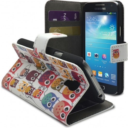 Smart Cover owl pattern for Galaxy S4 Mini