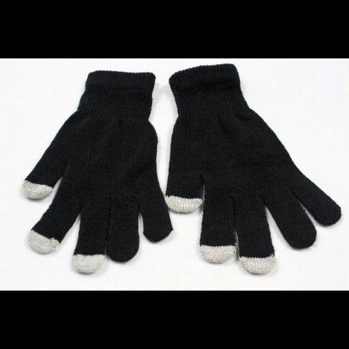 iTouch - Touch Gloves special iPhone iPad Black - size S