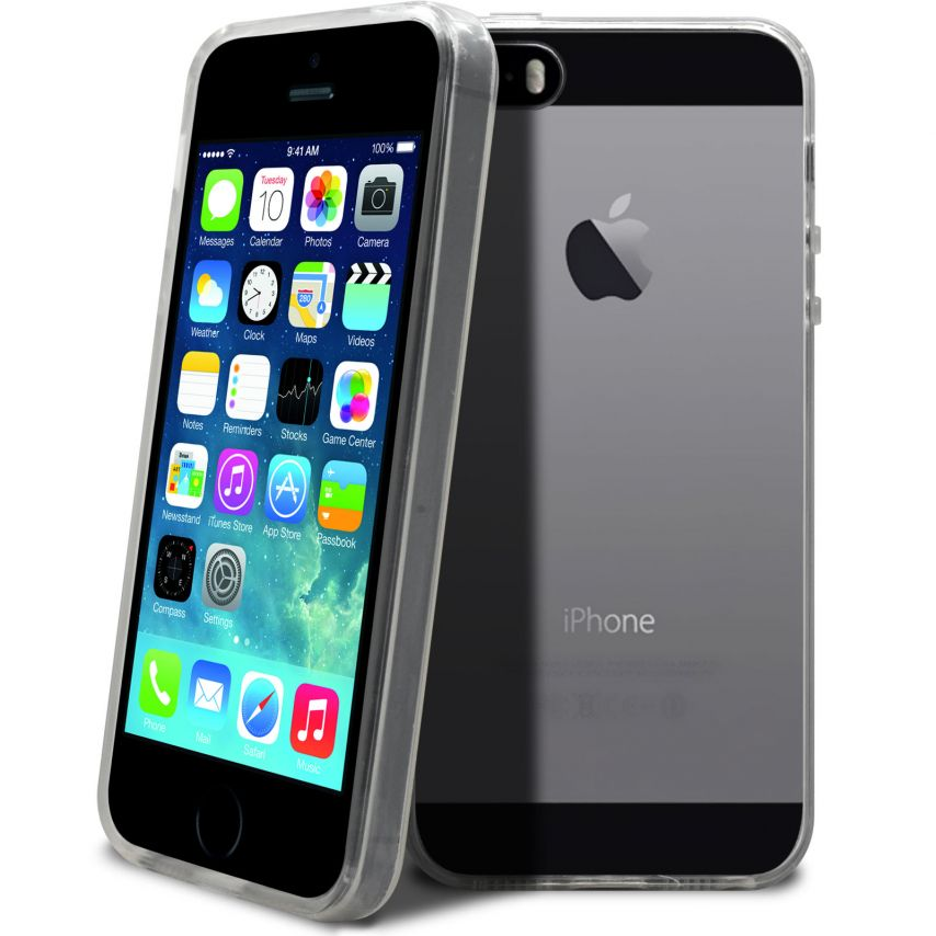 """""""Crystal Clear"""" flexible case for iPhone 5/5S"""