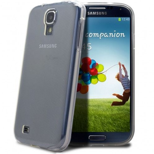 """Crystal Clear"" flexible case for Samsung Galaxy S4"