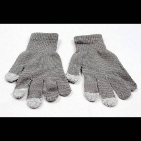 iTouch - Touch Gloves special iPhone iPad Grey - size S