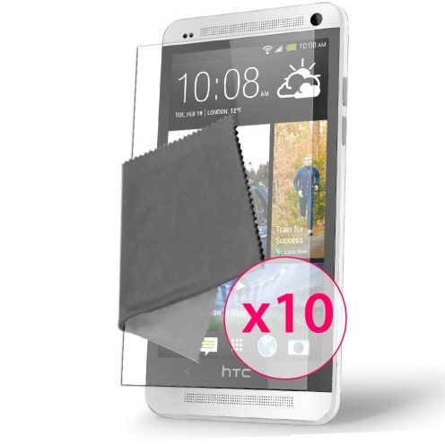 Clubcase ® Ultra Clear HQ screen protector for HTC One Mini 10-Pack