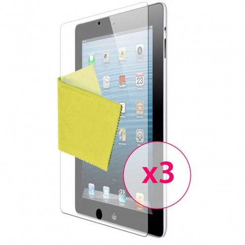 Clubcase ® Anti-Glare HQ screen protector for iPad 2/3 and retina 3-Pack