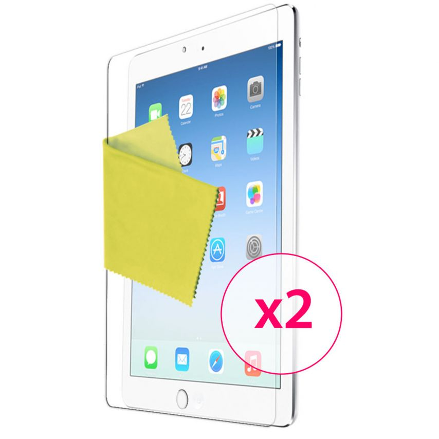 Clubcase ® Ultra-clear HQ iPad Air screen protector set of 2