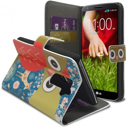 Smart Cover Owl and hind pattern for LG G2
