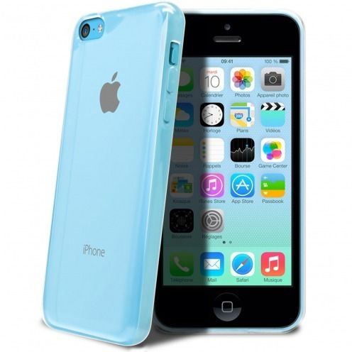 """Crystal Clear"" flexible case for iPhone 5C"
