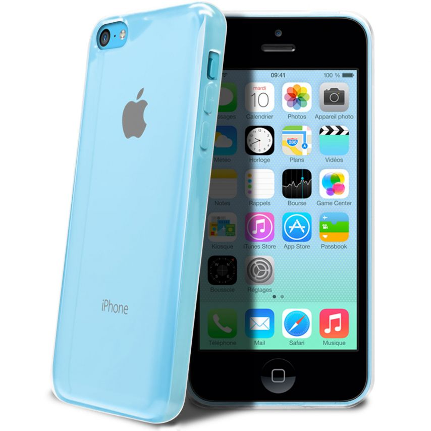 """""""Crystal Clear"""" flexible case for iPhone 5C"""