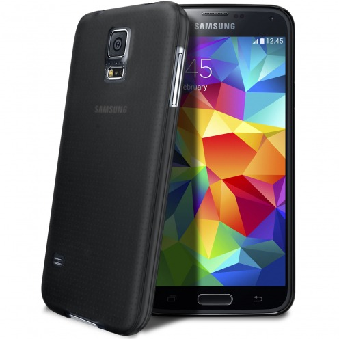 Ultra thin Case 0.3 mm Frost for Samsung Galaxy S5 Black