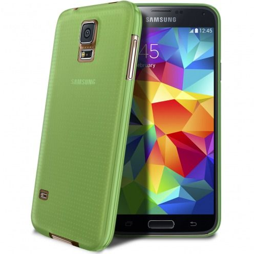 Ultra thin Case 0.3 mm Frost for Samsung Galaxy S5 Green