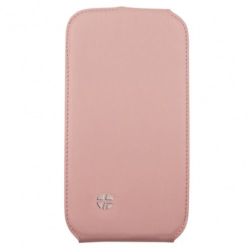 Genuine leather Textra ® Flippo rotating flip case for Samsung Galaxy S3 Pink