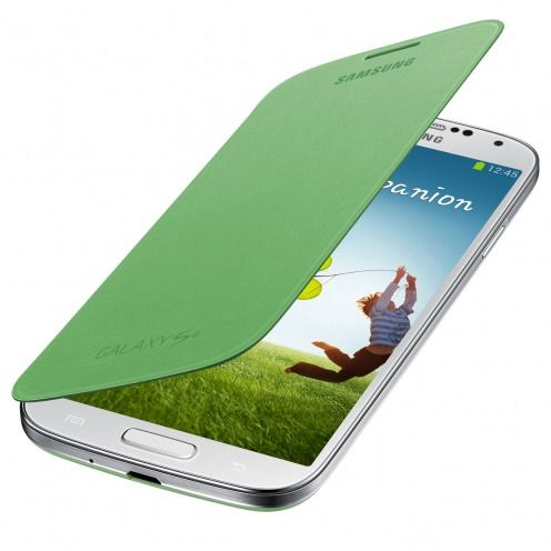 Green Flip Cover Galaxy S4 official Samsung