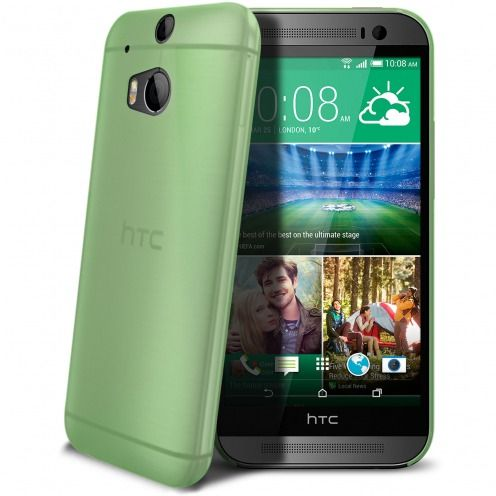 Ultra thin Case 0.3 mm Frost for HTC One M8 Green