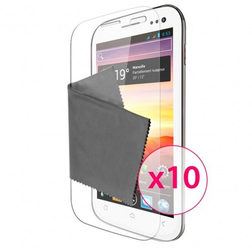 Clubcase ® Ultra Clear HQ screen protector for Wiko Cink King 10-Pack