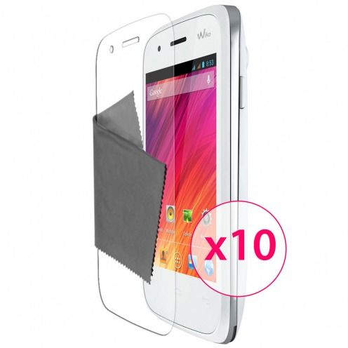 Clubcase ® Ultra Clear HQ screen protector for Wiko Ozzy 10-Pack