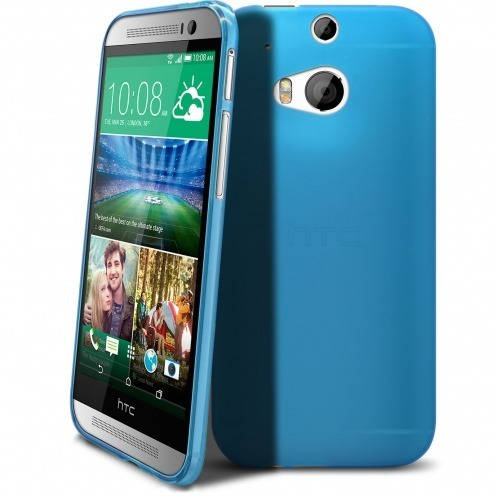 Frozen Ice Extra Slim soft blue case for HTC One M8
