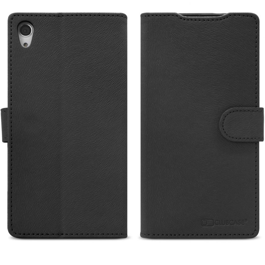 Smart Cover XPeria Z2 Folio Skin Texture Black
