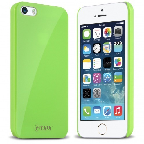Tipx® Hisoxio Collection Back Case Green for iPhone 5/5S