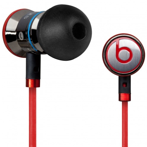 Handsfree earphones In Ear Beats Audio® Ibeats By Dre Black/Silver/Red