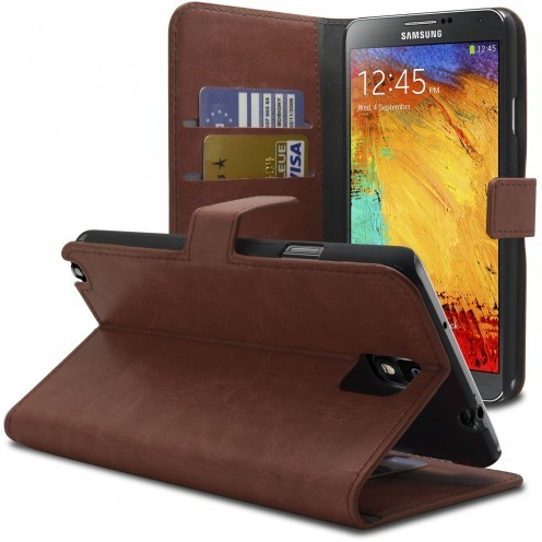 Smart Cover Samsung Galaxy Note 3 Havana marbled Leatherette