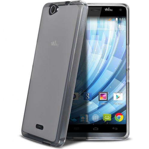 Frozen Ice Extra Slim soft White case for Wiko Getaway