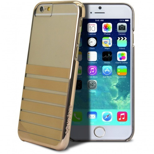 X-Doria Engage Plus Crystal Chrome case for iPhone 6 - Gold