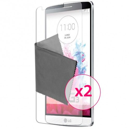 Clubcase ® Anti-Glare HQ screen protector for LG G3 2-Pack