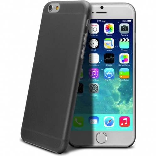 Ultra thin 0.3 mm Case Frost for iPhone 6 Black