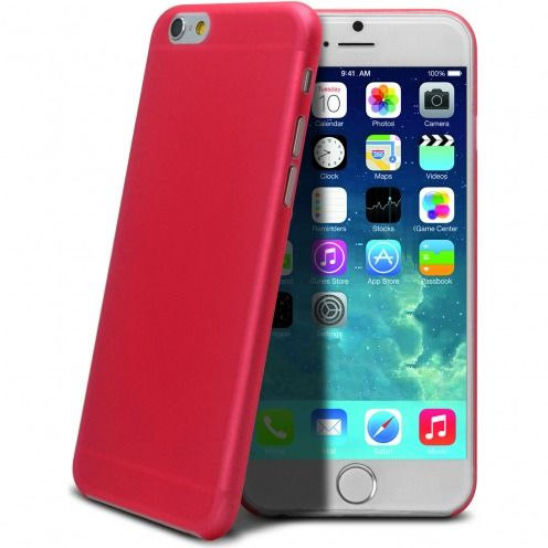 Ultra thin 0.3 mm Case Frost for iPhone 6 Red