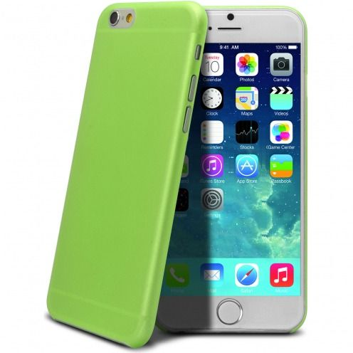 Ultra thin 0.3 mm Case Frost for iPhone 6 Green