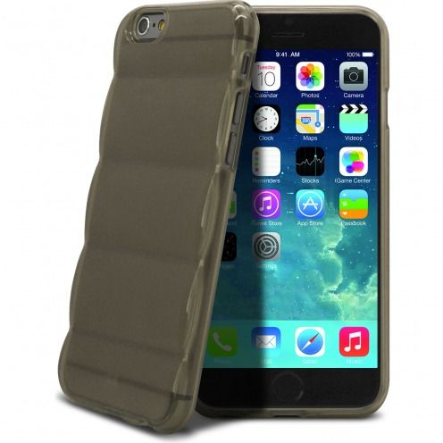 Gel Air Bump Grip® Slim case for iPhone 6 Smoked