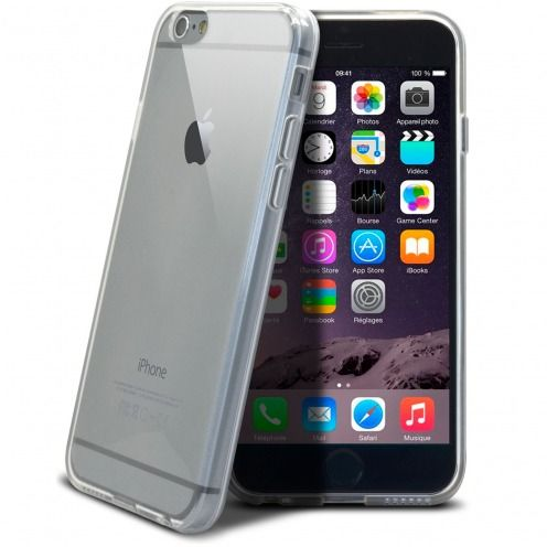 """Crystal Clear"" flexible case for iPhone 6"
