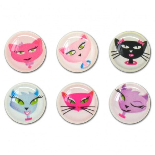 Home Sticker sticker button Home iPhone 3GS / 4 / 4 S / 5 Design Cats