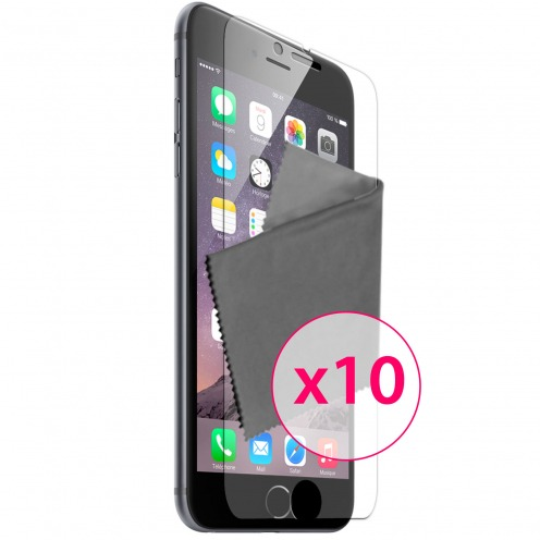 Clubcase ® Ultra Clear HD screen protector for iPhone 6 / 6s (4.7 inch) 10-Pack
