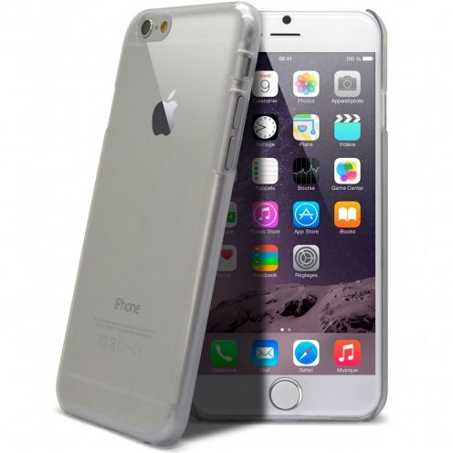 Extra Slim Crystal case for iPhone 6 Plus Clear