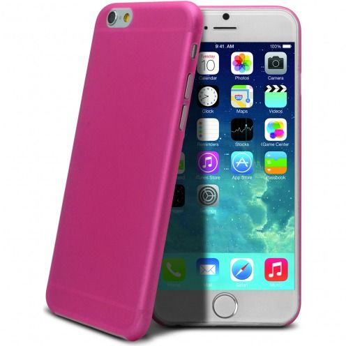 Ultra thin 0.3 mm Case Frost for iPhone 6 Plus Pink