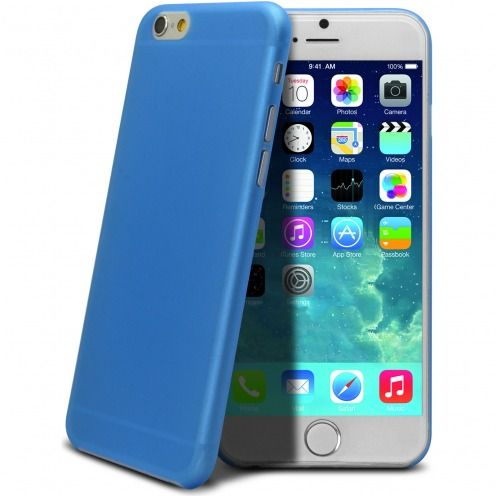Ultra thin 0.3 mm Case Frost for iPhone 6 Plus Blue