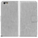 Smart Cover iPhone 6 White marbled Leatherette