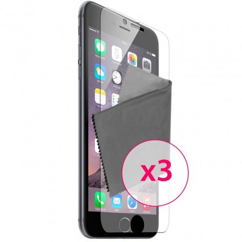Clubcase ® Anti-Glare HQ screen protector for iPhone 6 / 6s 3-Pack