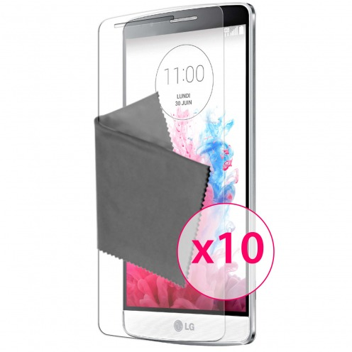 Clubcase ® Ultra Clear HQ screen protector for LG G3S 10-Pack