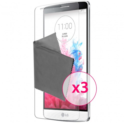 Clubcase ® Ultra Clear HQ screen protector for LG G3S 3-Pack