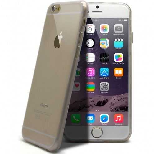 """Ultra thin 0.5 mm""""Crystal Clear"""" flexible case for iPhone 6 Plus"""