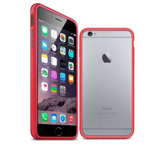 Bumper for iPhone 6 Plus HQ Red