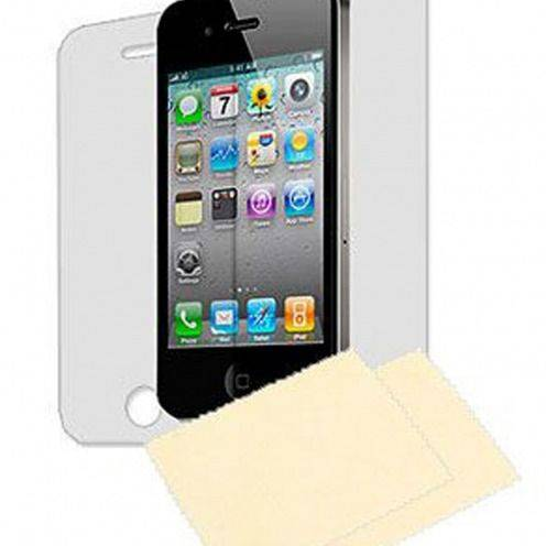 Clubcase ® Ultra Clear HQ screen protector 3 Font+ 3 Back iPhone 4/4S