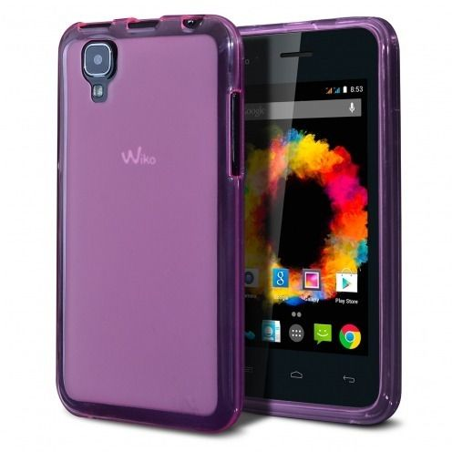 Frozen Ice Extra Slim soft Pink case for Wiko Sunset