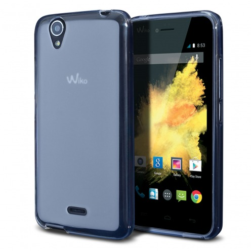 Frozen Ice Extra Slim soft white case for Wiko Birdy