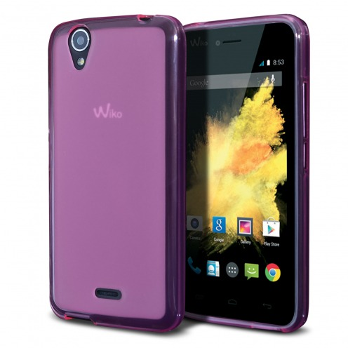 Frozen Ice Extra Slim soft Pink case for Wiko Birdy