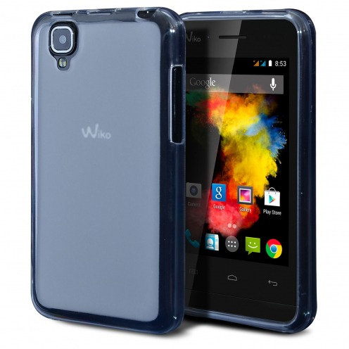 Frozen Ice Extra Slim soft white case for Wiko Goa