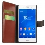 Smart Cover Xperia Z3 Havana marbled Leatherette