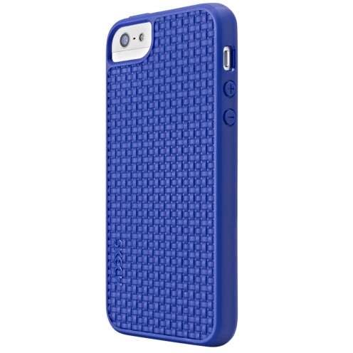 Skech® TPU Case GripShock Blue for iPhone 5/5S