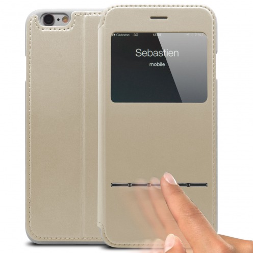Smart Touch View Folio Cover for iPhone 6 - White